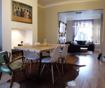 Small Double Bedroom (short/ long stay) - Salford - Dům