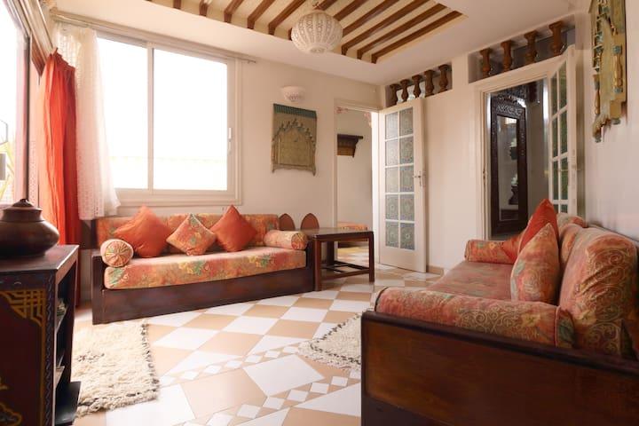 Appartement terrasse Marrakech dans la médina