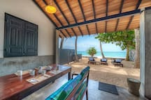 Red Parrot Beach Villa, Right On The Beach