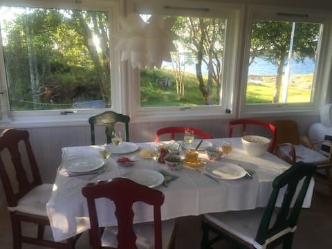 Fantastiske Slotterøya på Helgeland