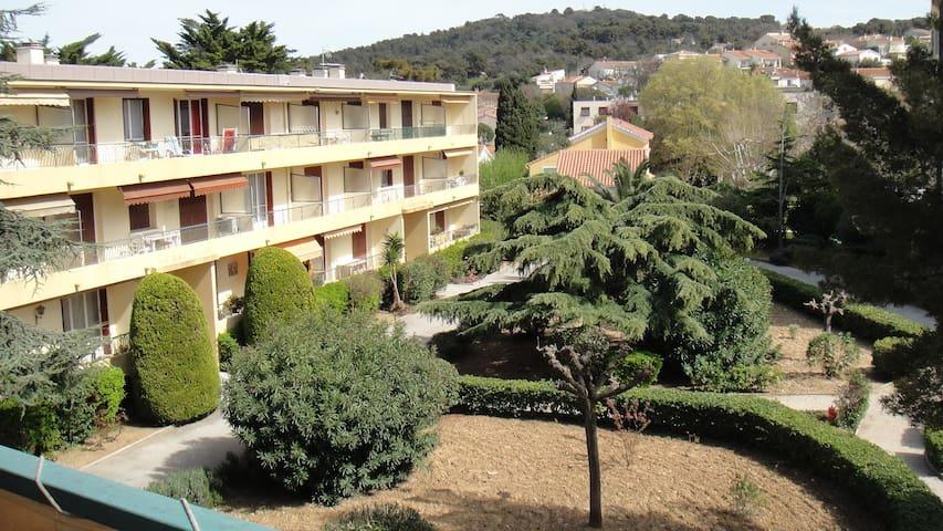 APPARTEMENT A 500 METRES  PLAGE - Six-Fours-les-Plages - Lägenhet