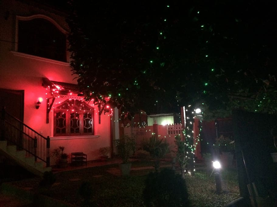 圣诞节院子装饰