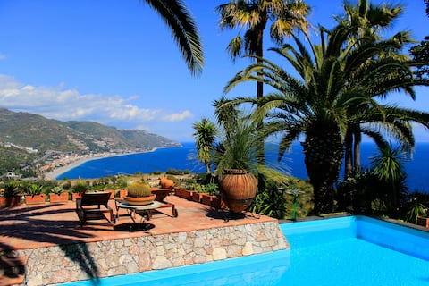 VILLA LOU SUITE Sea View Pool Taormina