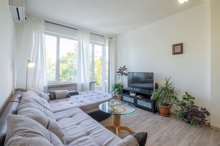 Comfortable 2 Bedroom Flat/Top Central location/