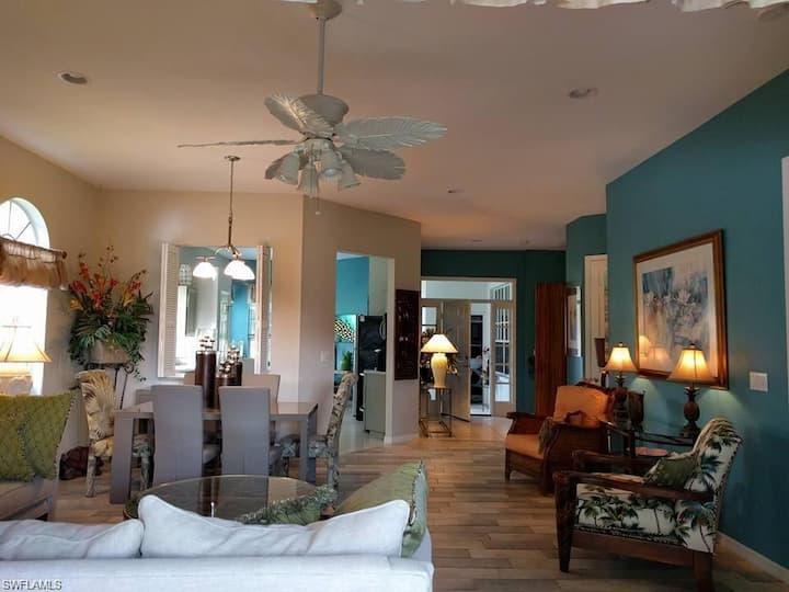 Lakefront Villa, Gulf Access, South Ft. Myers