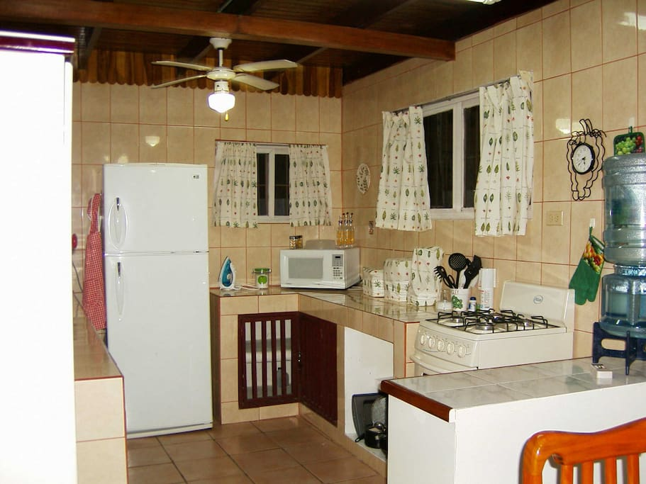 view of Kitchen with all needed appliances