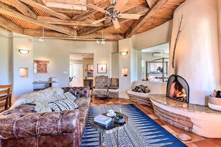 Secluded Ojo Caliente Home w/ Patio+Mtn Views