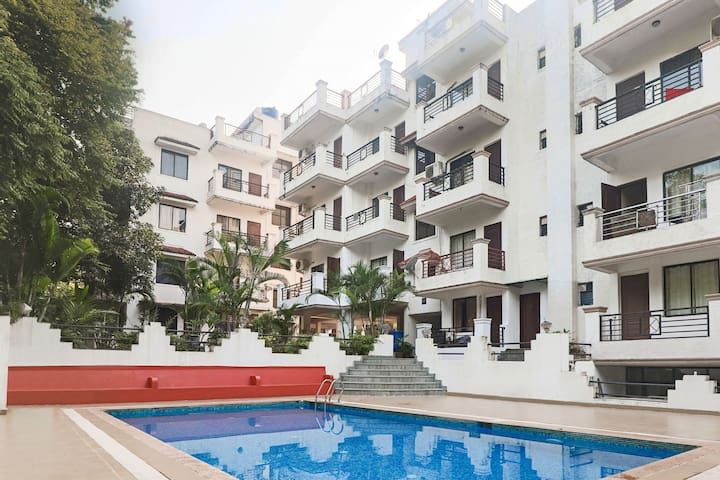1-bedroom apartment with a pool/61468