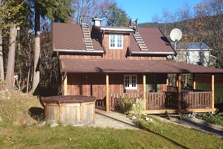 Sauna cottage 1000 NOK per night - Vang - 통나무집