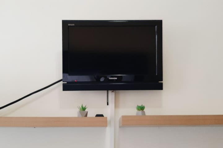 LCD TV will keep you company