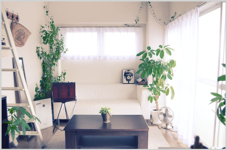 Quiet Private Room. 20 mins to Shibuya, Shinjuku. - Setagaya-ku - Apartament