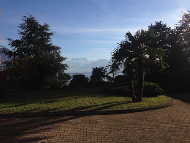 Magnifique appartement au bord du lac Léman - Clarens - Apartamento