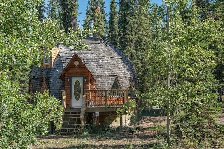 Aurora Sun Cottage - 45 mins South of Whitehorse
