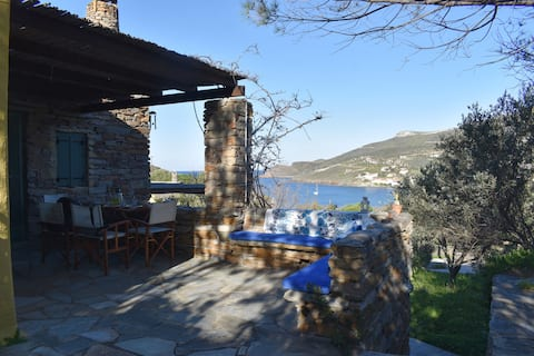 Otzias Stone House with great view