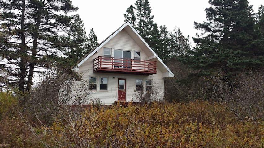 Rustic A-Frame Cottage - Parrsboro