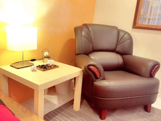 10分淡水*5分老街 New & Clean 1BD Own Bath - New Taipei City - Apartment
