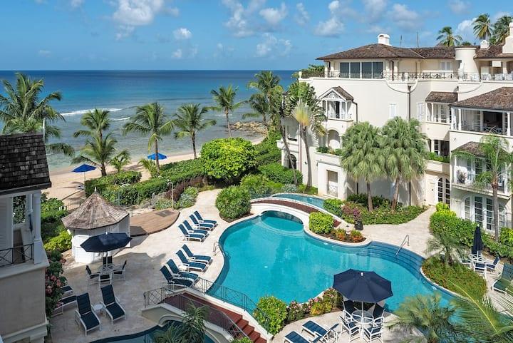 Luxury 3-bedroom beachfront penthouse
