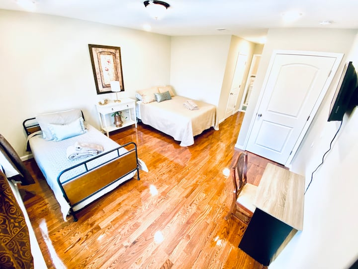 BestRest SUITE NEAR NYC/NEWARK AIRPORT/OUTLET MALL