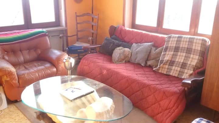 Apartment with one bedroom in Castelnuovo Nigra, with furnished balcony and WiFi - 30 km from the slopes