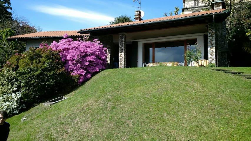 Panoramic villa - lake Maggiore - Cargiago - Villa
