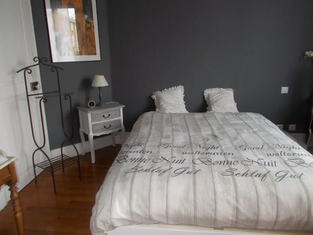 chambre d hote dans maison centre ville - Nevers - Rumah