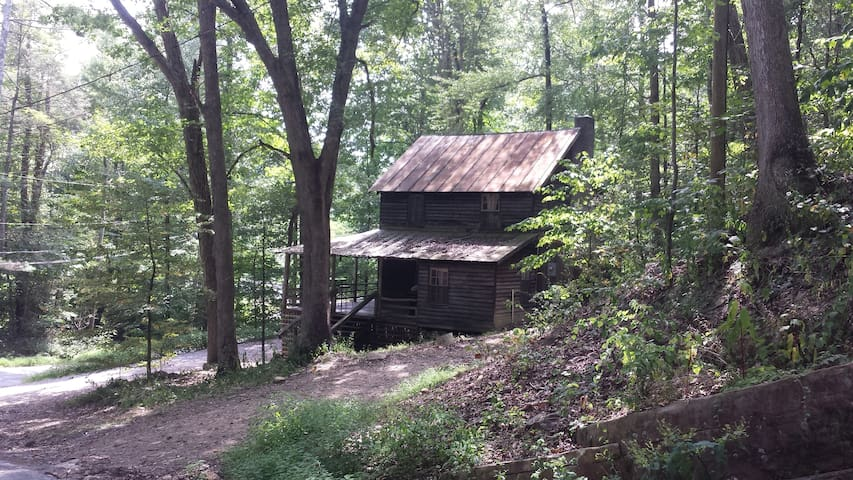 Very Very Rustic Cabin by the River-Walk to trails - Hinton