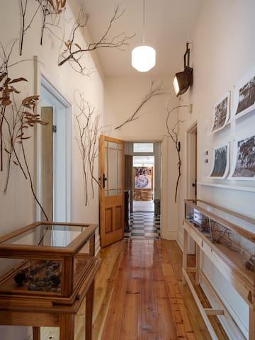 Henley villa hallway