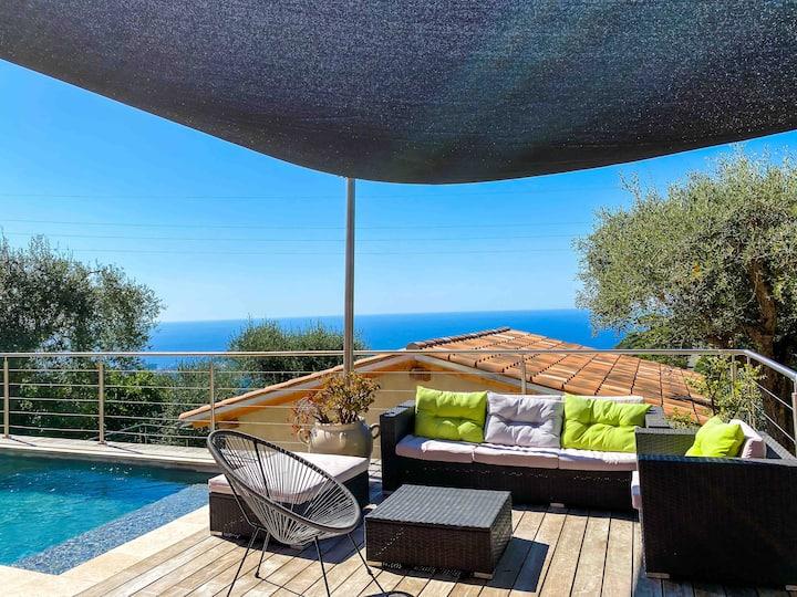NEW! Zen & Modern Duplex with sea view