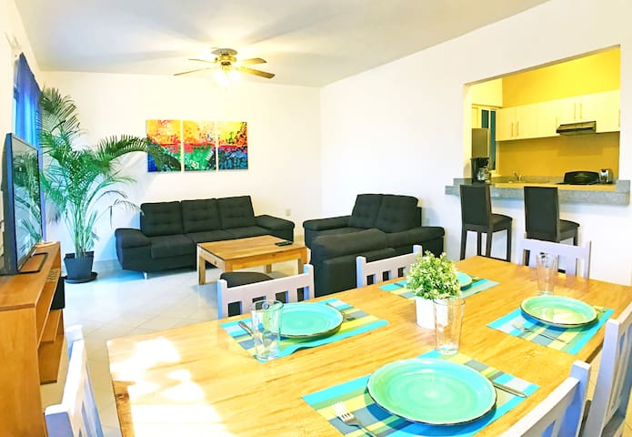 #204-Brand new central 2 bedroom 2 bath apartment - Playa del Carmen