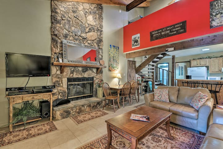 Condo w/Grill Access- Mins to Angel Fire Rsrt