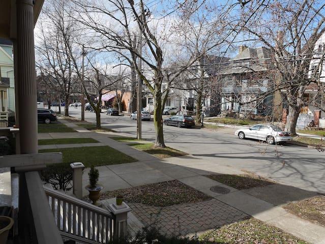 Steps from the vibrant Elmwood Village