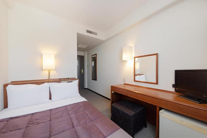 Plaza Hotel Tenjin/Semi Double Room/Non-Smoking