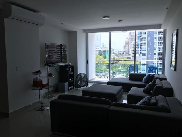 Great room in Amazing Place in the heart of Panamá