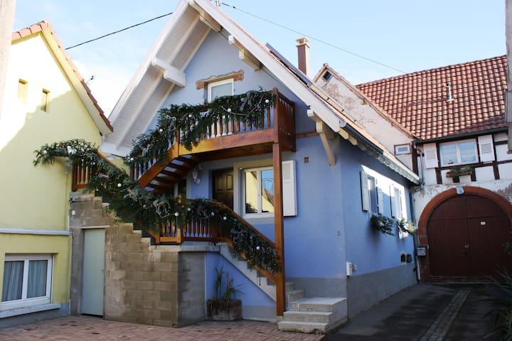Gites avec piscine et sauna sur la route des vins - Dangolsheim - Appartement