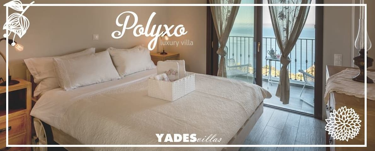 Luxurious Yades Villas - Polyxo - Amazing sea view - Athani - 別荘