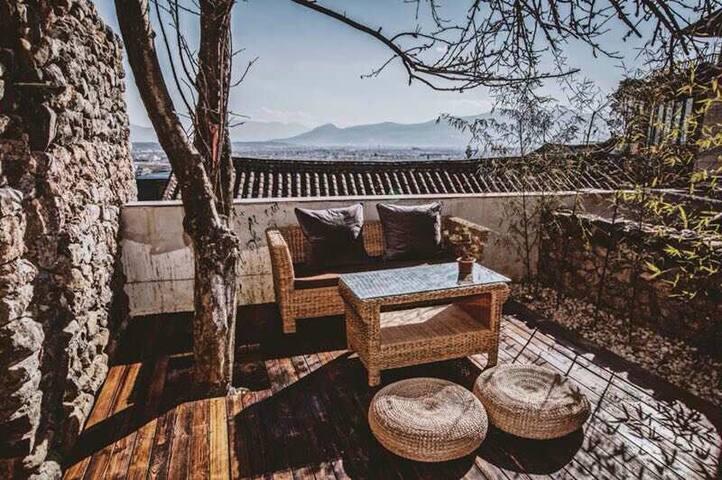 丽江独栋庭院,豪华观景,私人SPA空间和桑拿房 - 丽江 - Flat