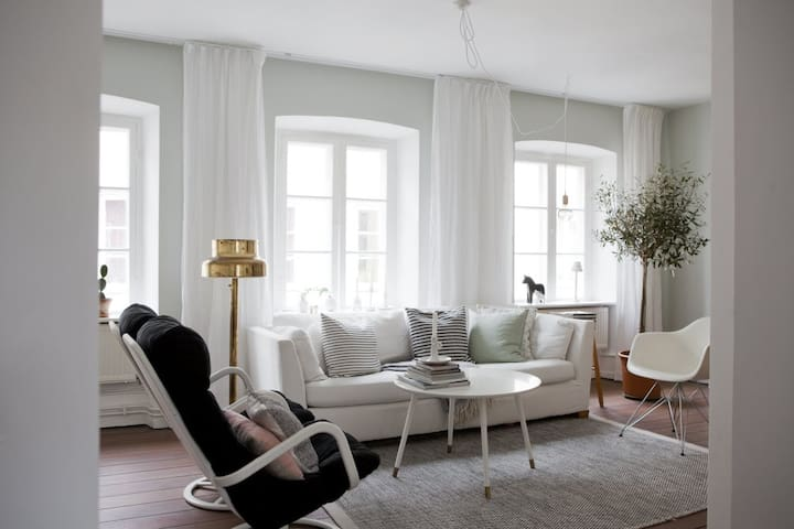 Charming townhouse in the very center of Malmö
