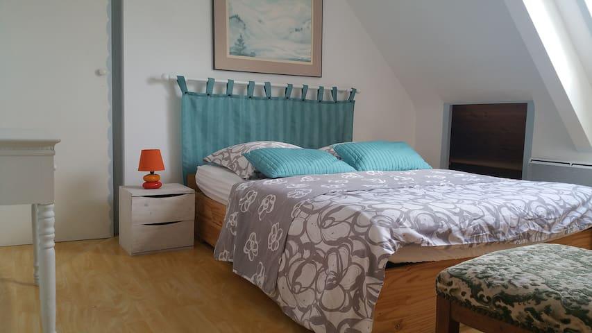 3 chambre lit de 140
