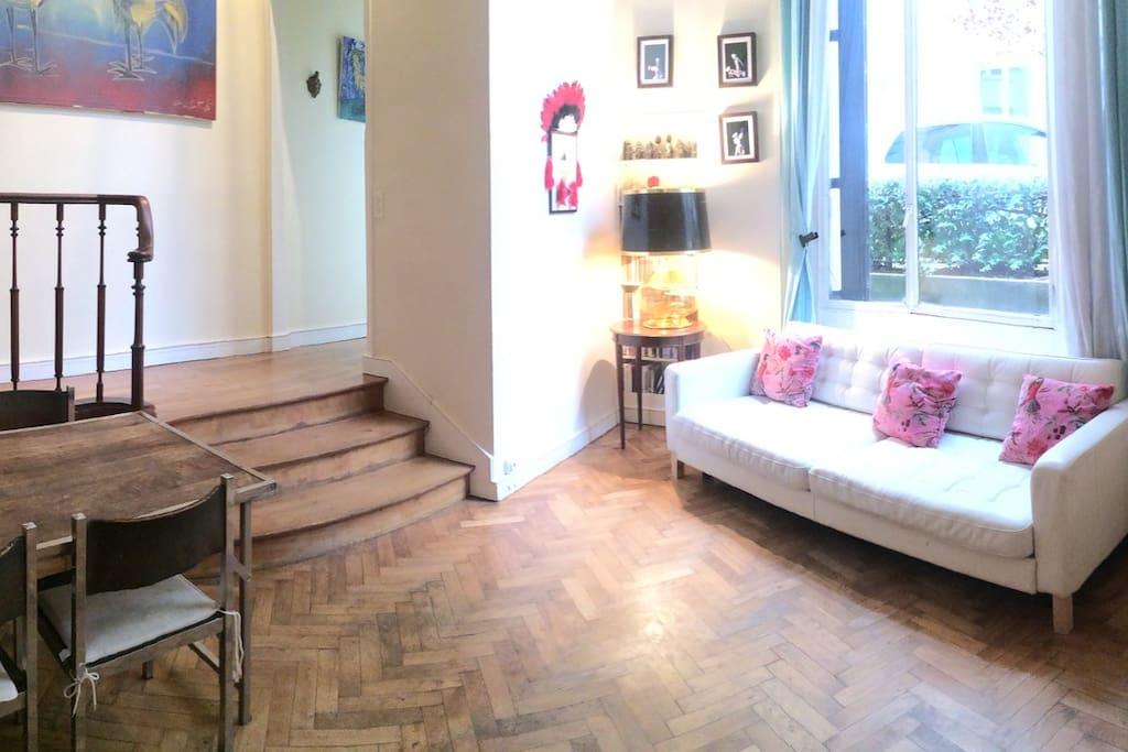 Loft d 39 artiste ann e 30 lofts louer paris 16e - Location meuble paris 16e arrondissement ...
