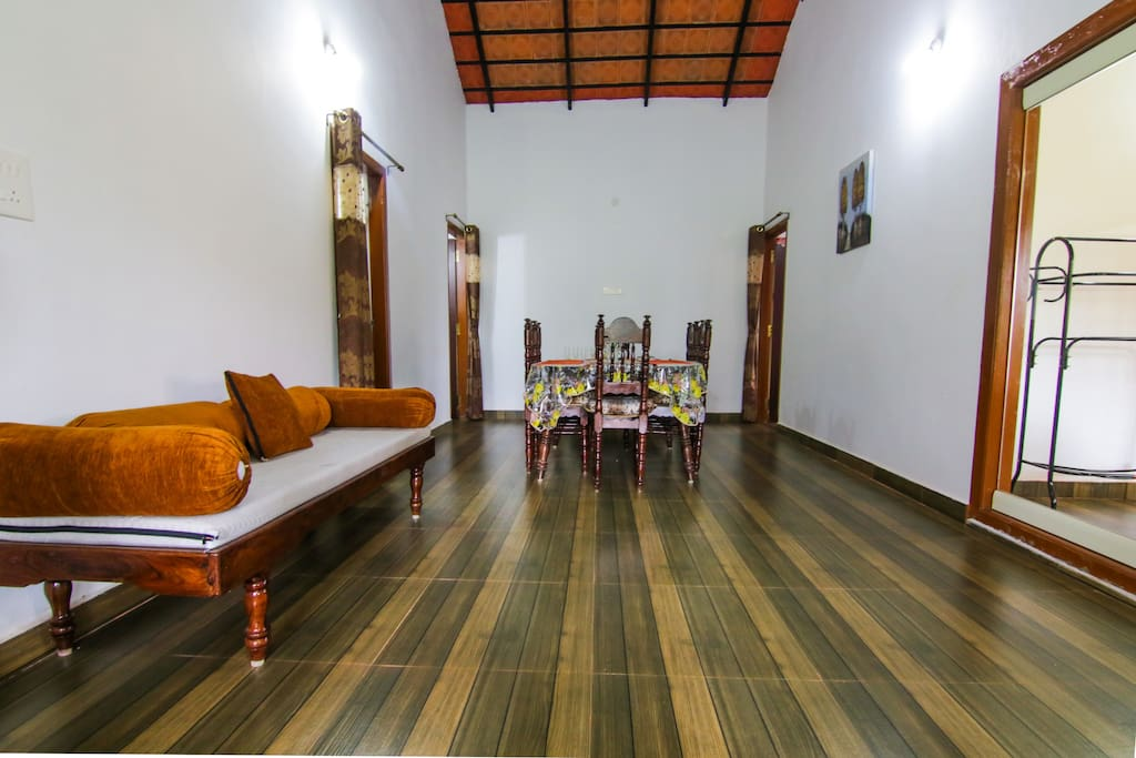 Spacious and furnished for a pleasant stay, the hosts ensure your needs are taken care of throughout the stay