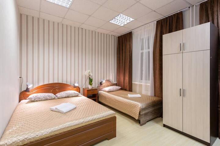 Просторная комната для троих в районе Лефортово