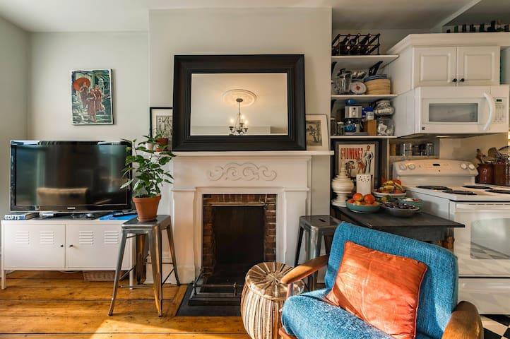 Bright, comfortable flat on Creighton