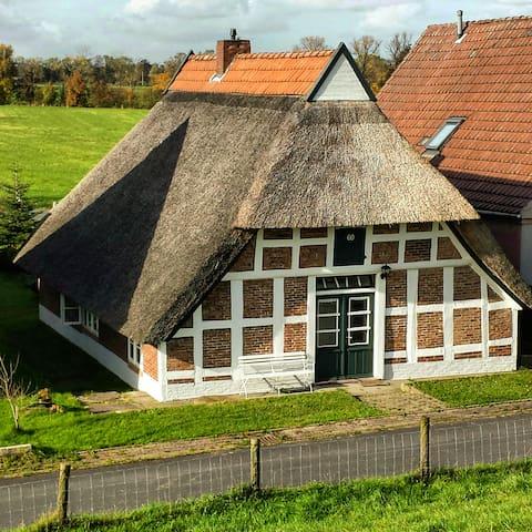 Ferienhaus am Weserstrand! - Elsfleth - Casa