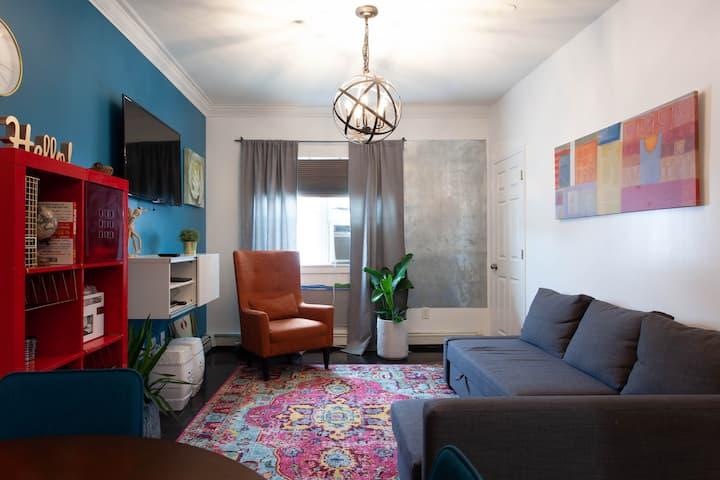 Gorgeous one bedroom apartment.