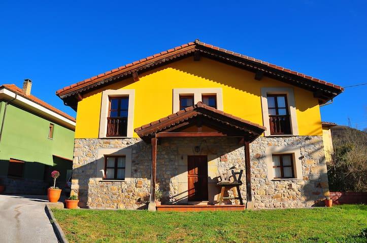 Casa Angel en los Picos de Europa - La Robellada - Hus