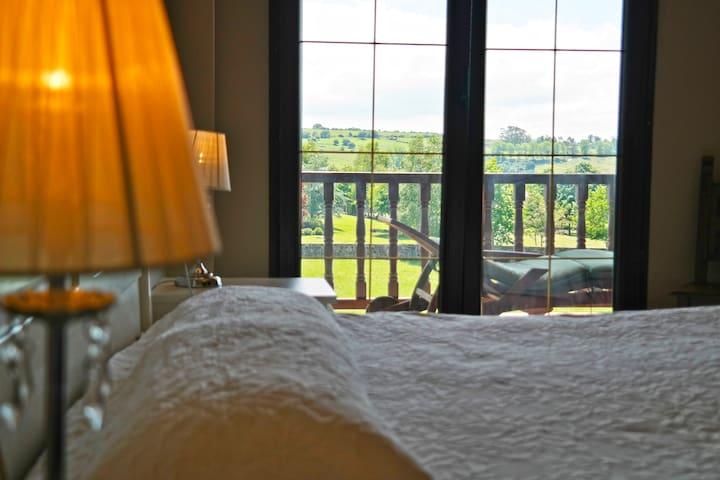 Apartamento con preciosas vistas - Santillana del Mar - Appartement