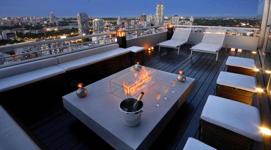 29th FLOOR PENTHOUSE - Huge Private Balcony! (QP1) - Buenos Aires - Apartment