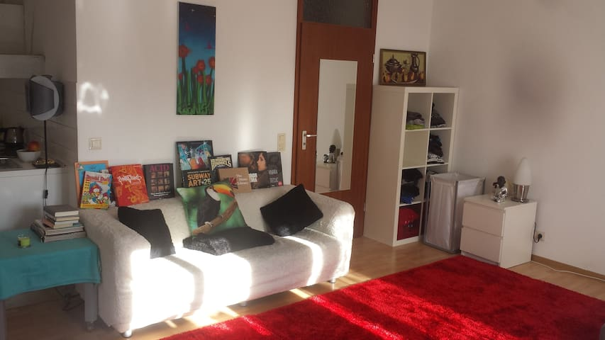 Cozy, sunny studio w. balcony - Karlsruhe - Leilighet
