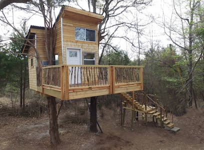 Ra's REAL TREEHOUSE n 2 huge Trees  2 beds private - Eufaula - Baumhaus