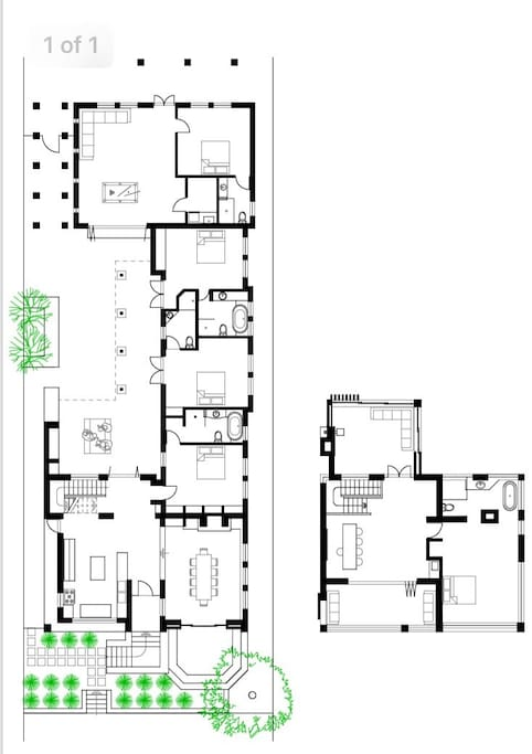 House plan and layout.
